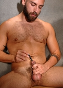 MEATPLUG-3, polished aluminum piss-hole stuffer by OXBALLS…