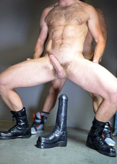 BOOTBOY dildo by OXBALLS…pure silicone