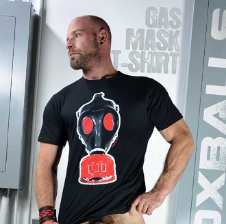 GAS-MASK PIG T-Shirt by OXBALLS