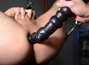 BENT dildo by OXBALLS...pure silicone