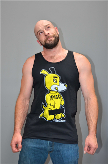 PISS PUP Tank by OXBALLS