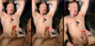 DICK SCREW SPIKE Silicone Sound OXBALLS