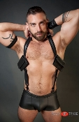 DUAL POCKET NEOPRENE HARNESS ROUGH TRADE