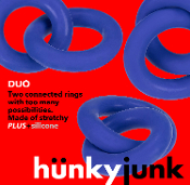 DUO linked cock/ball rings by hünkyjunk