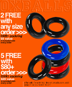 FREE OXR-1 cockring, get 2x more with every order