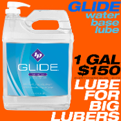 GLIDE 1 GALLON H2O base lube