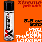 XTREME H2O toy lube--the best for toys!