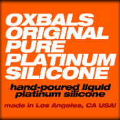 Pure Platinum Silicone LIQUID SILICONE hand poured by OXBALLS