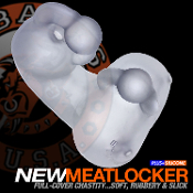 MEATLOCKER CLEAR ICE chastity